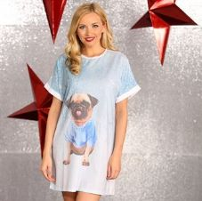 PUG NIGHT DRESS